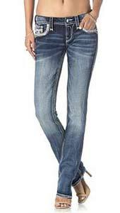 "Damenjeans Rock Revival ""Corin J202"" straight"